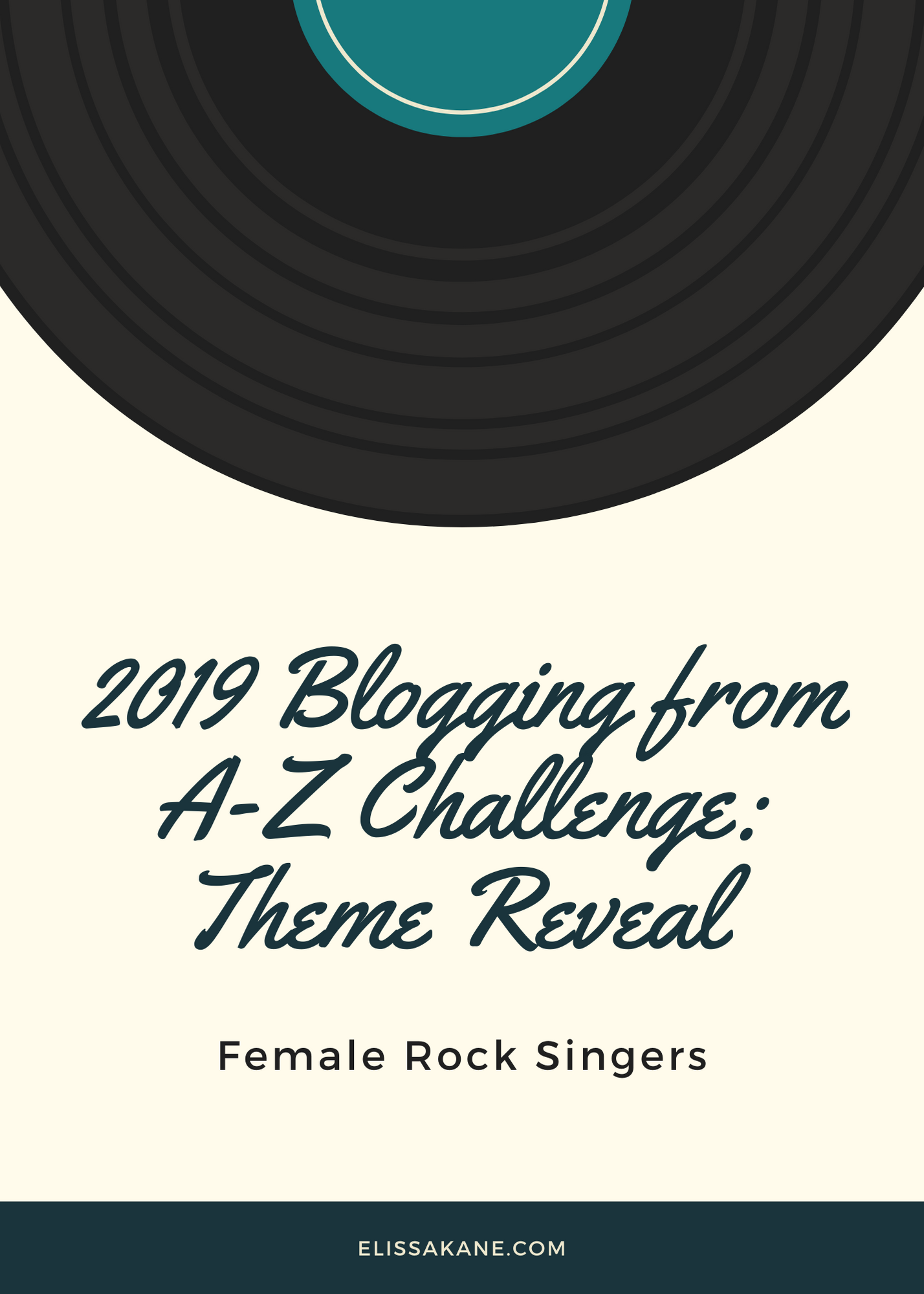 2019 Blogging from A-Z Challenge: Theme Reveal