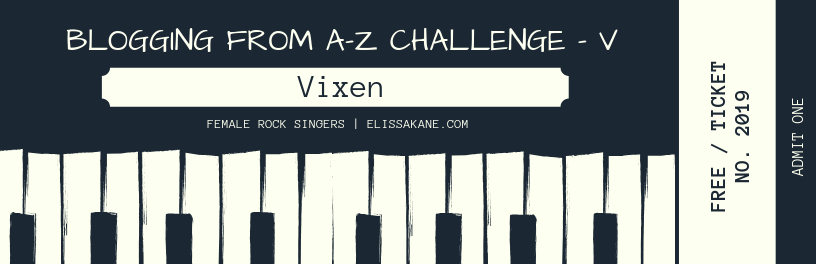 2019 Blogging From A-Z Challenge: V is for Vixen