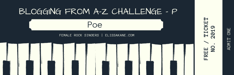 2019 Blogging From A-Z Challenge: P is for Poe