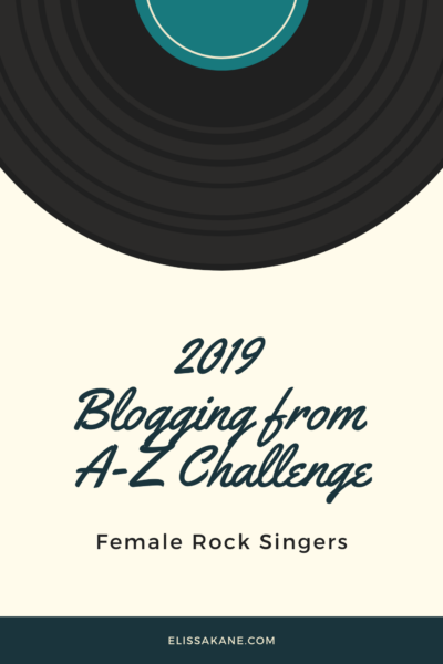 2019 Blogging From A-Z Challenge: X is for Annie Lennox