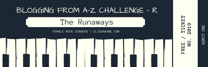 2019 Blogging From A-Z Challenge: R is for The Runaways